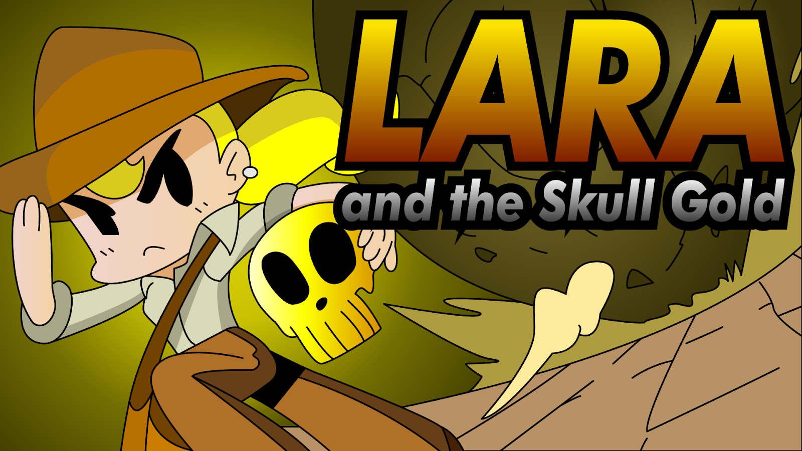 Lara And The Skull Gold
